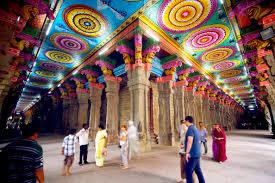Индия, мадурай, храм минакши