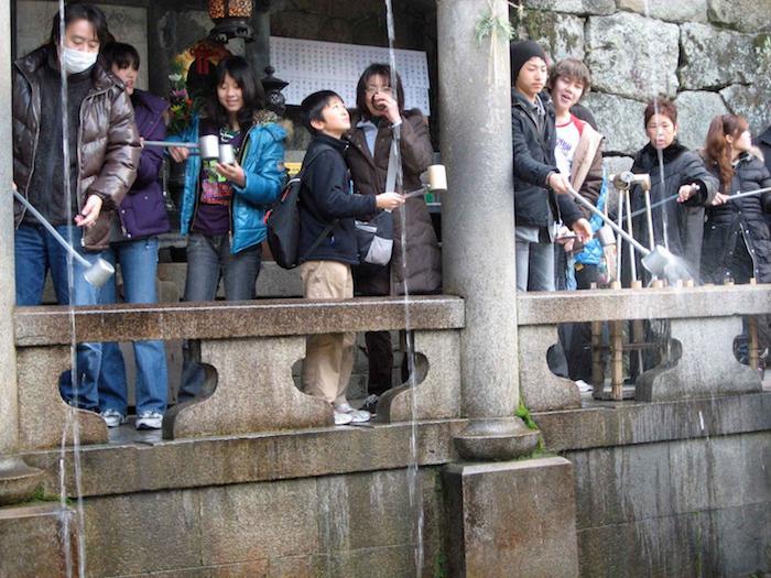 Храм чистой воды в Киото